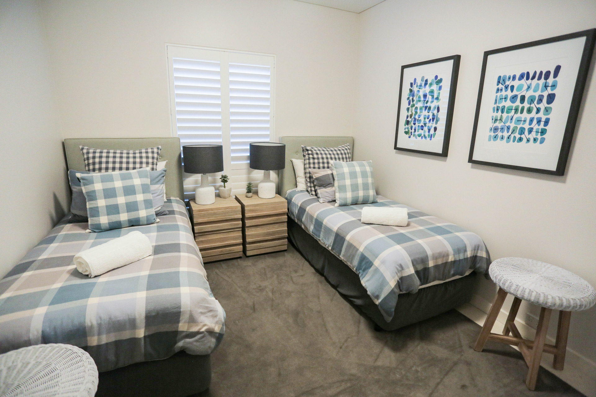 Beach Apartment Styling - Rocksalt Interiors - Residential Interior Designs Central Coast.